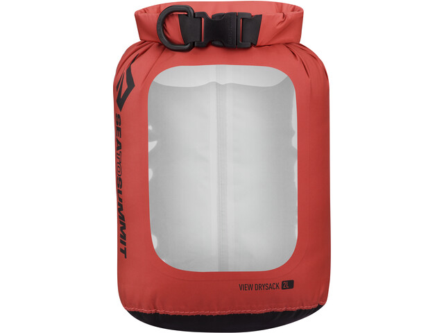 Sea to Summit View Dry Sack 2L bottle, red